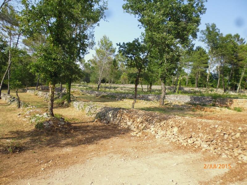 Pays de Fayence, terrain à batir 3 maisons